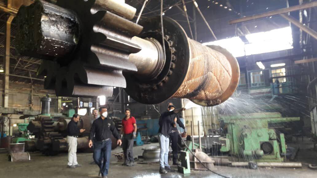 عملیات تعمیر و بازسازی کارخانه نیشکر هفتتپه آغاز شد