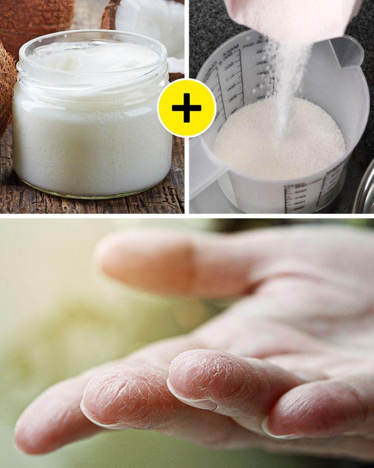 چند ترفند ساده و طبیعی برای رفع خشکی دستها