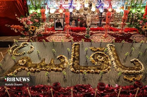 عکس/ آیین نمادین ازدواج حضرت قاسم(ع) در خرمشهر