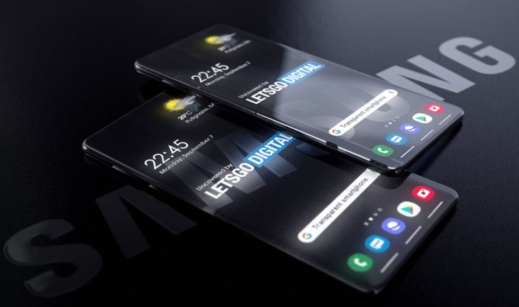 تلاش سامسونگ برای تولید موبایلی با بدنه شفاف