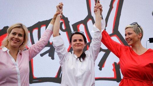 این سه زن در پی سرنگون کردن لوکاشنکو هستند