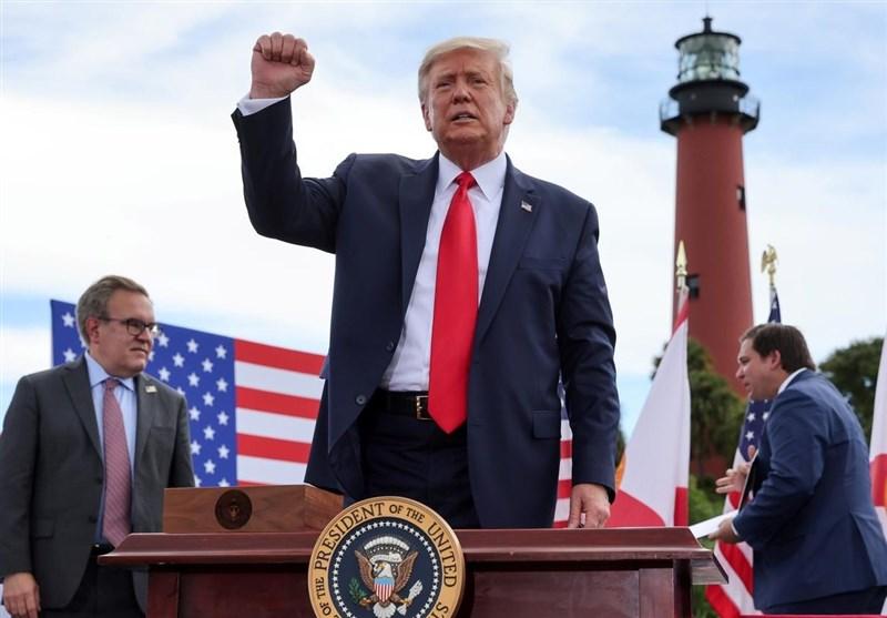 ادامه تبلیغات انتخاباتی ترامپ برای خروج نظامی از افغانستان