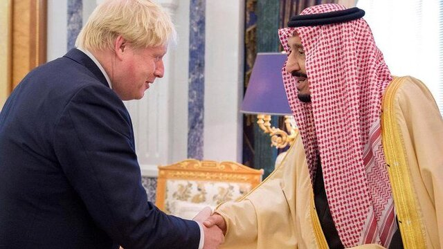 گفتگوی پادشاه عربستان و جانسون درباره کرونا و گروه ۲۰