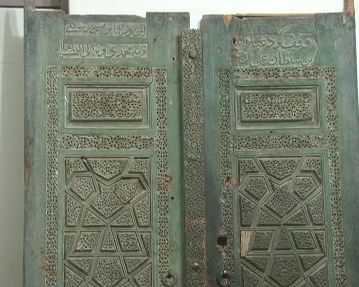 درِ ورودی مسجد سید محمدیه نایین ثبت ملی شد