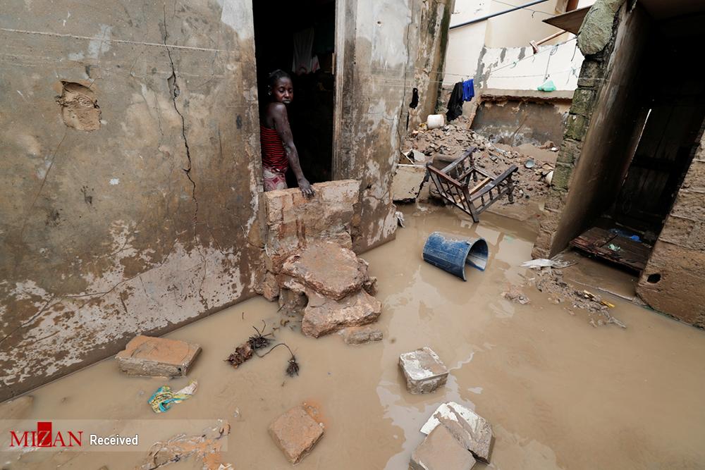 سیل ویرانگر در سنگال