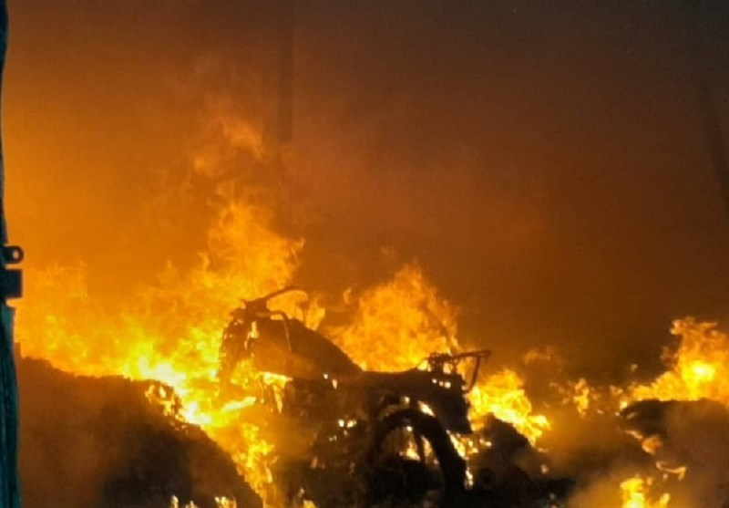 شناسایی عوامل آتشسوزی ۸۰۰ هکتار از جنگلهای ارس الموت