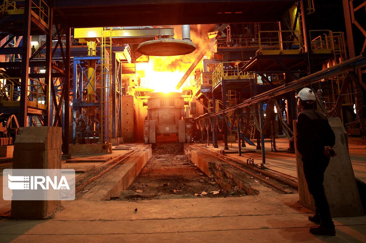رشد 8 درصدی تولید آهن اسفنجی در ۵ ماهه اول امسال