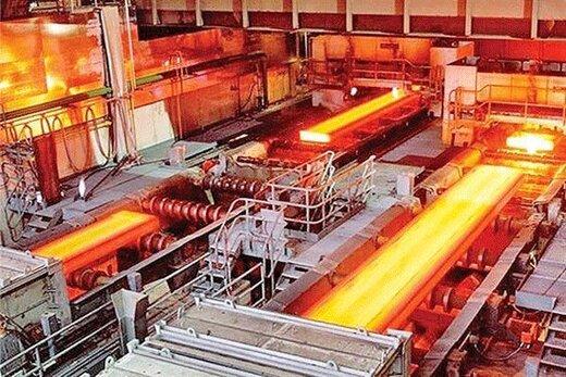 تولید بیش از ۹ میلیون تن شمش فولادی در سال 99