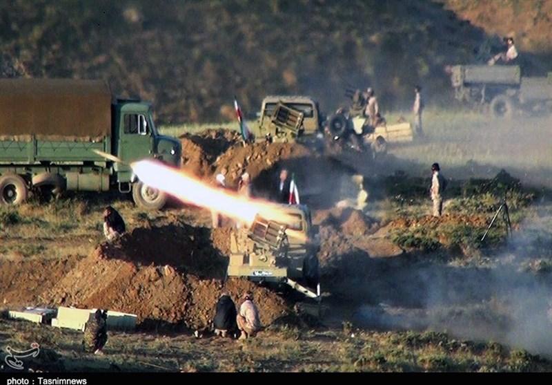 عملیات بزرگ نیروی زمینی سپاه در شمالغرب؛ انهدام مقر تروریستها در جدار مرز