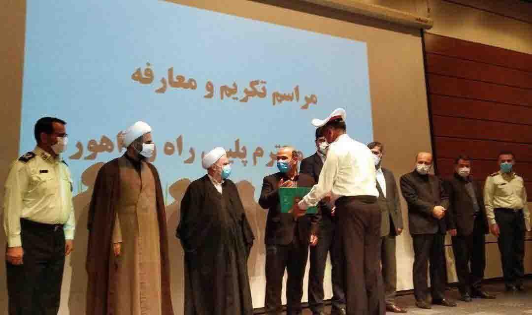 سرپرستان پلیس راه و راهور فرماندهی انتظامی استان زنجان معرفی شدند