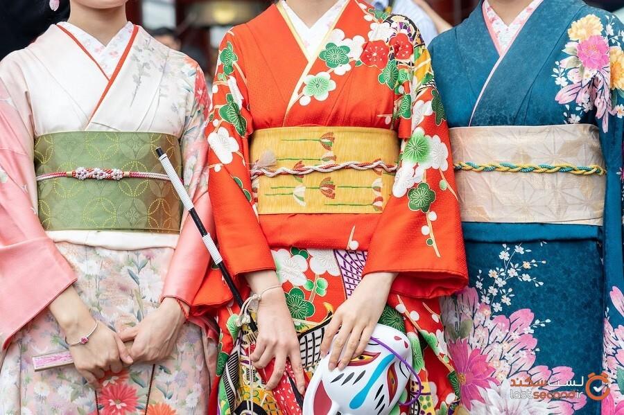 ماجرای خواندنی و عجیب لباس مخصوص و سنتی ژاپنی ها!