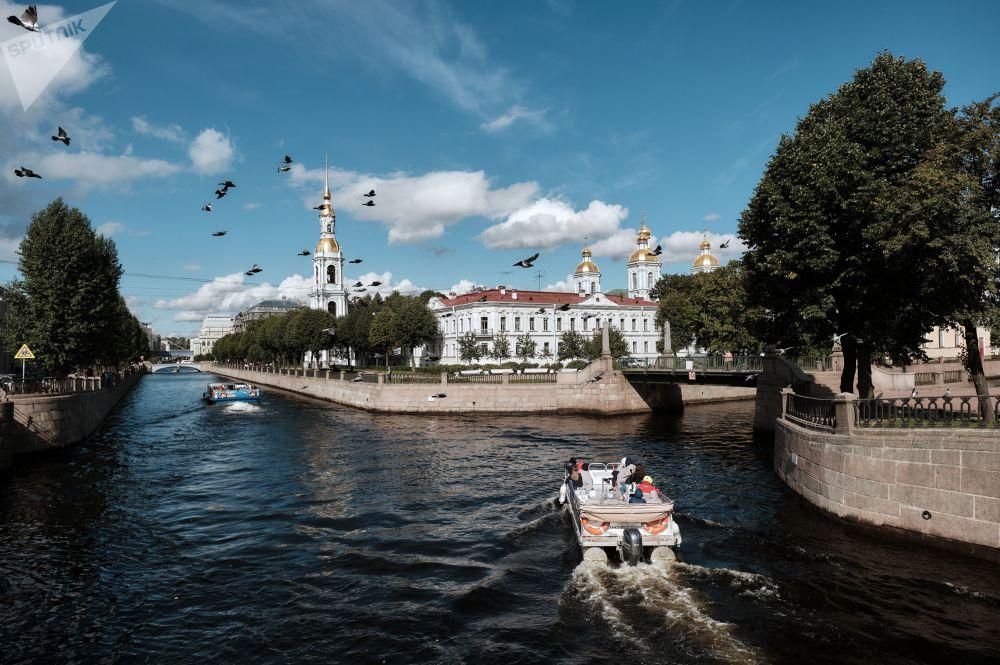 نماهای شهری سنت پترزبورگ