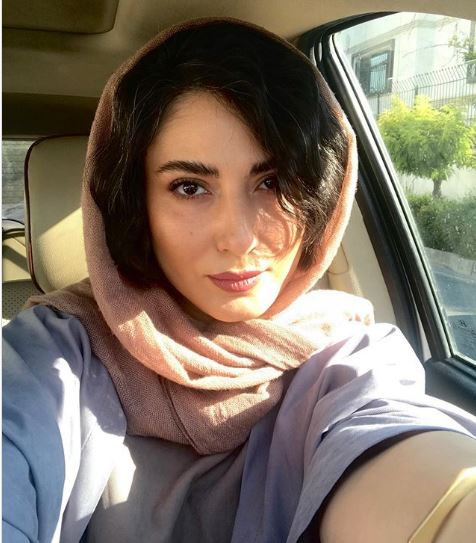 چهرهها/ سلفی سمیرا حسن پور در داخل ماشین