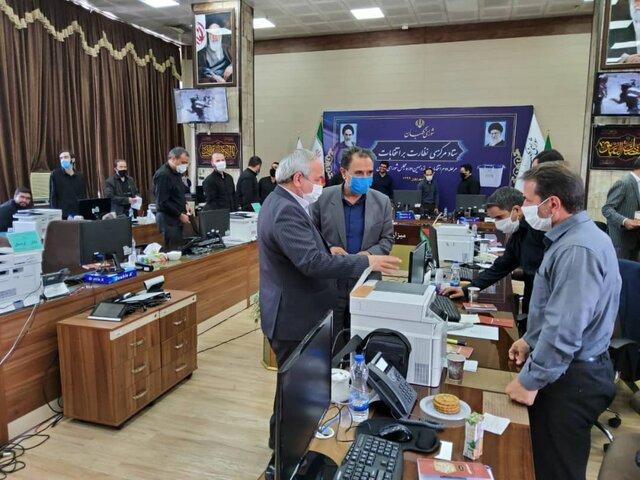 بازدید اعضای شورای نگهبان از ستاد مرکزی نظارت بر انتخابات