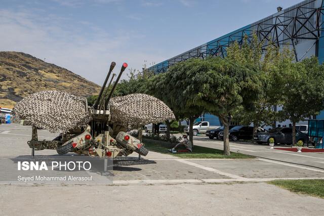 نمایشگاه دستاوردهای دفاع مقدس در مشهد افتتاح شد