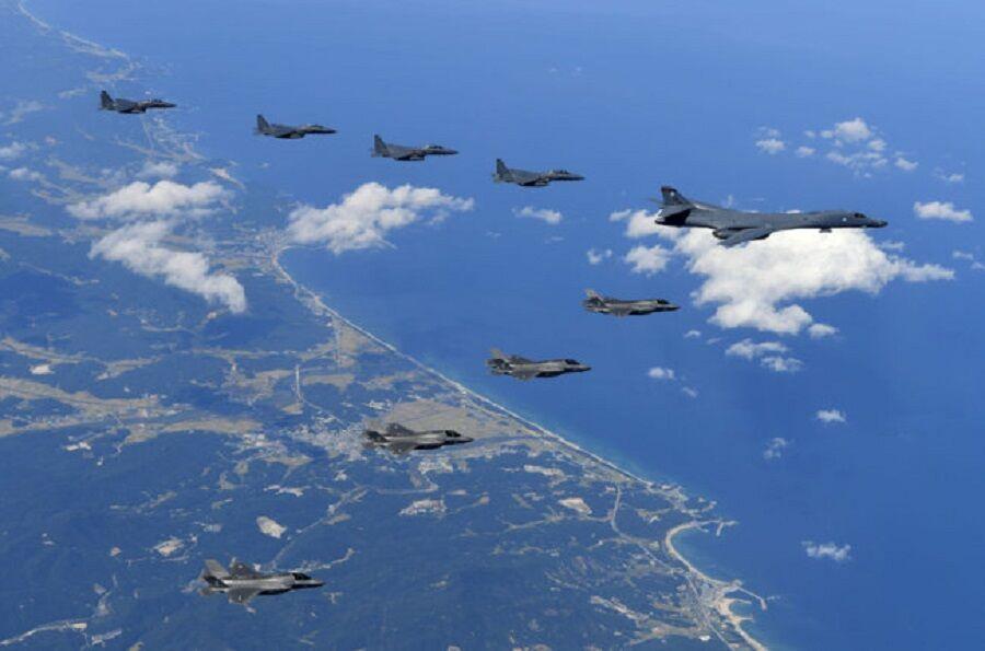 چین حمله به پایگاه هوایی آمریکا در جزیره گوام را شبیه سازی کرد