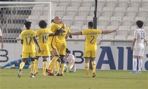 النصر نیمه اول را برای سپاهان بازی کرد
