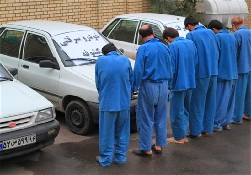 دستگیری ۸ سارق سابقهدار در آبادان