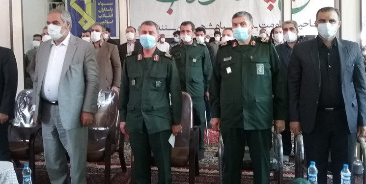 بهرهبرداری از 1300 پروژه عمرانی و محرومیتزدایی سپاه در کردستان