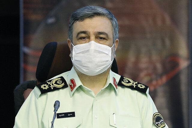 تاکید فرمانده ناجا بر برخورد مقتدرانه با عاملان رعب و وحشت مردم