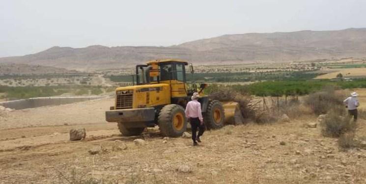 رفع تصرف 110 هزار متر مربع از اراضی ملی در یامچی
