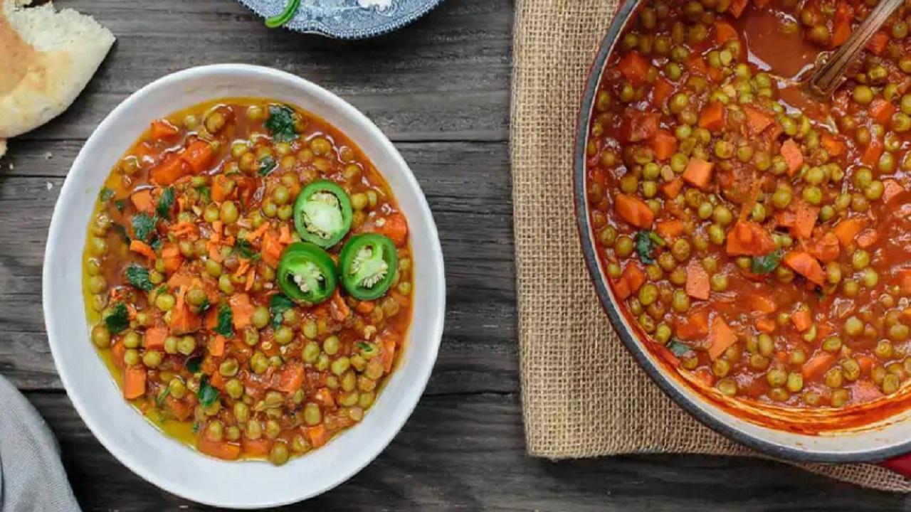 غذای اصلی/ طرز تهیه خورش نخود فرنگی ساده و خوشمزه