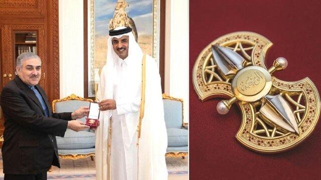 هدیه امیر قطر به سفیر ایران چه بود؟