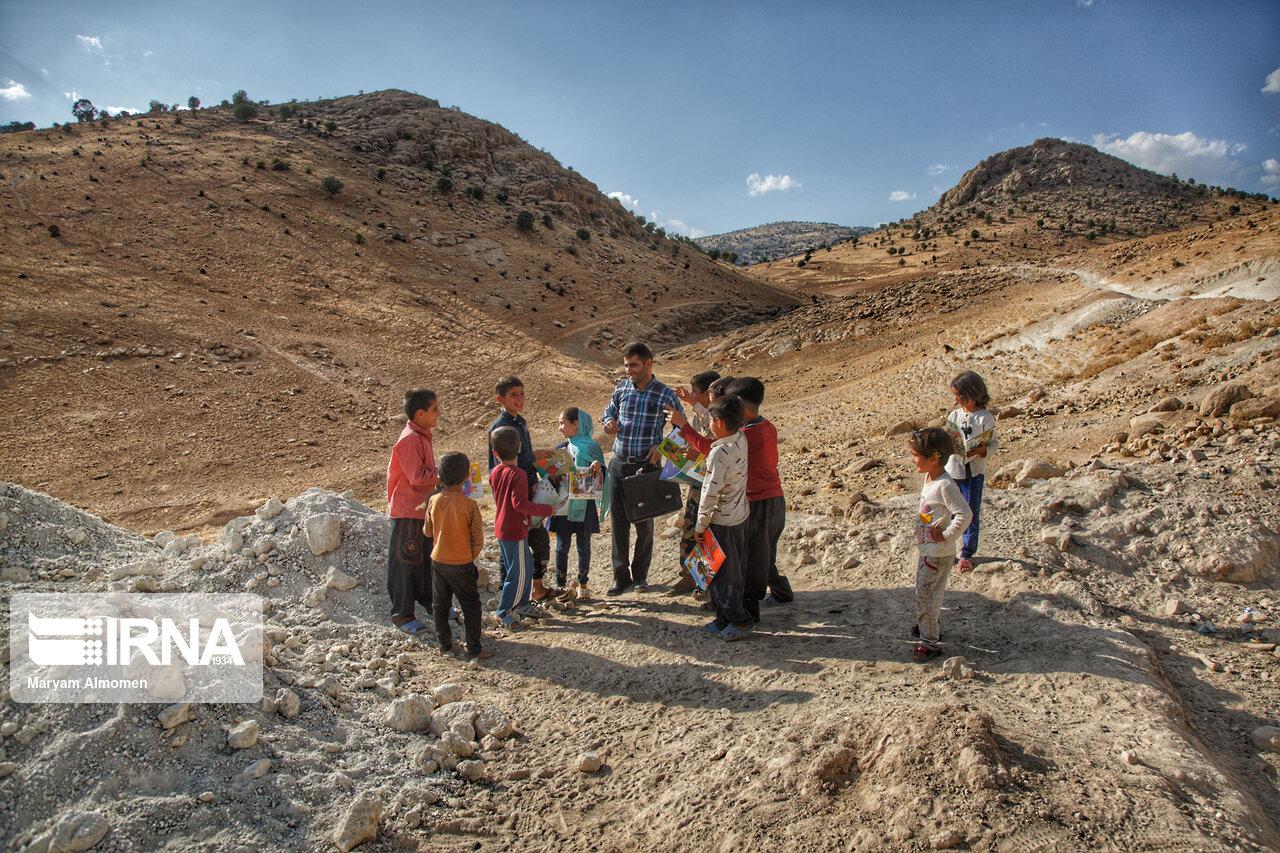 واحد سیار کانون پرورش فکری کودکان و نوجوانان در میان عشایر