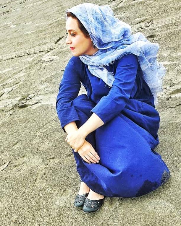 چهره ها/ عکس ساحلی شبنم مقدمی