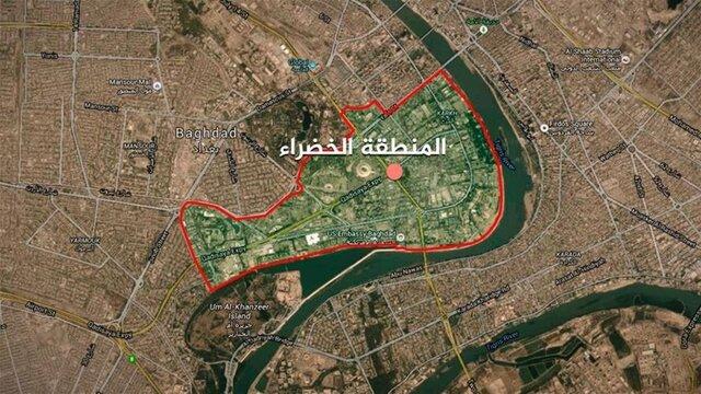 اخباری از حمله موشکی به منطقه سبز بغداد