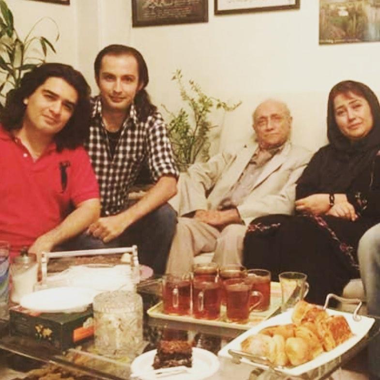 چهره ها/ عکس 10 سال قبل سامان احتشامی و جمعی از هنرمندان