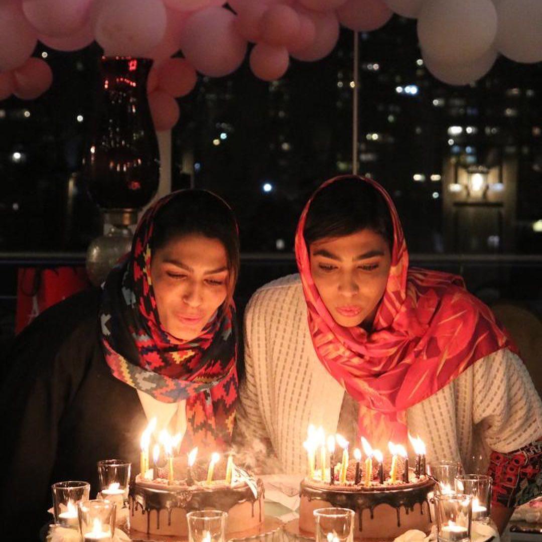 چهره ها/ سور و سات الهه منصوریان برای تولدش