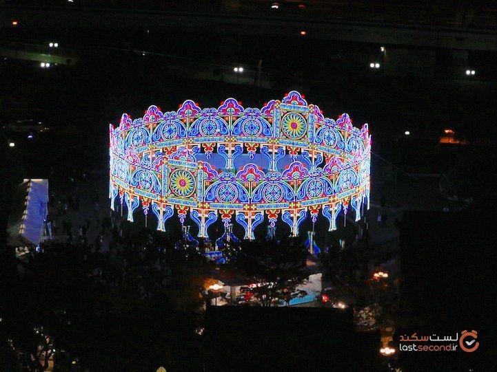 ماجرای مشهورترین جشنواره نور ژاپن چیست؟