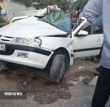 ۲ کشته در حادثه تصادف روستای نوجه ده شبستر