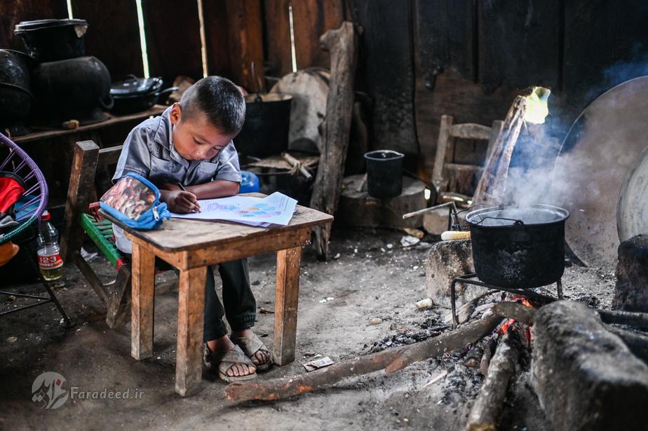 تقلای کودکان روستایی دورافتاده در مکزیک برای تحصیل