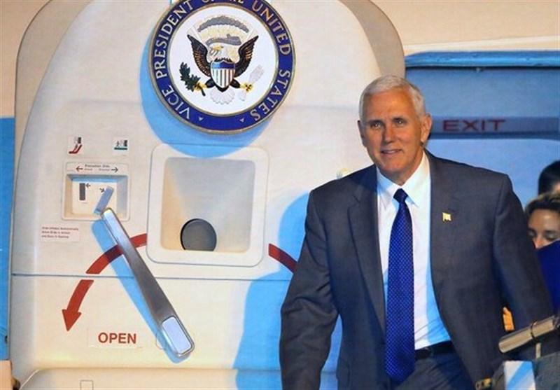 فرود اضطراری هواپیمای معاون ترامپ