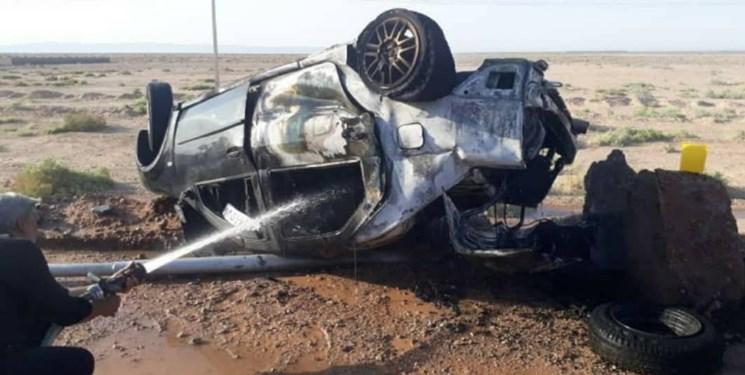 شاخ به شاخ شدن 2 خودروی سواری در گچساران منجر به فوت راننده شد