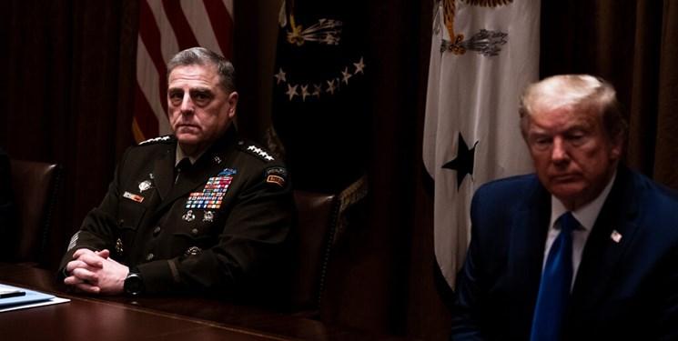 نگرانی پنتاگون از کشیده شدن پای ارتش به ناآرامیهای بعد از انتخابات