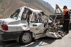 واژگونی پراید در محور سمنان به دامغان ۲ کشته برجای گذاشت