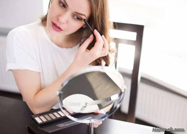 ترفندهای آرایشی برای خانم های تنبل
