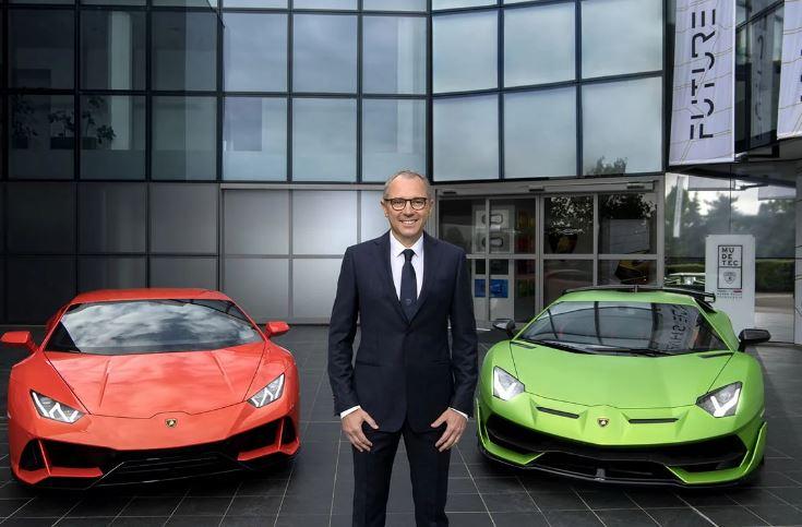 مدیرعامل وقت لامبورگینی، رئیس آینده فرمول یک میشود