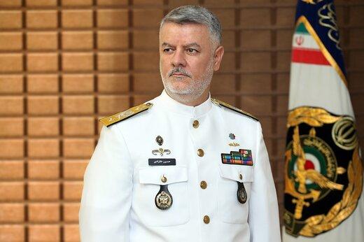 اخطار مقام بلندپایه ارتش به ناوگان دریایی آمریکا