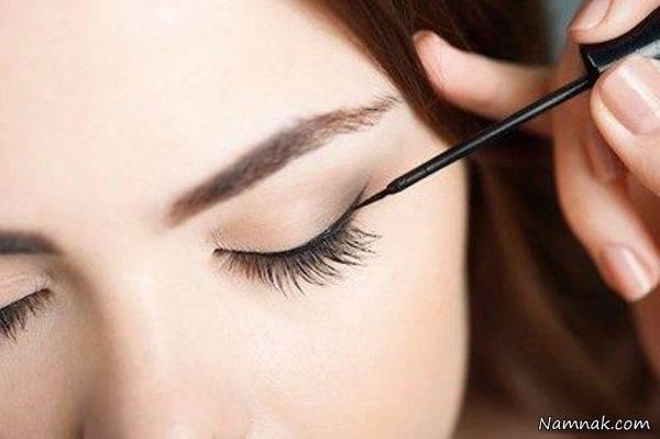 چگونه از ریختن خط چشم جلوگیری کنیم؟