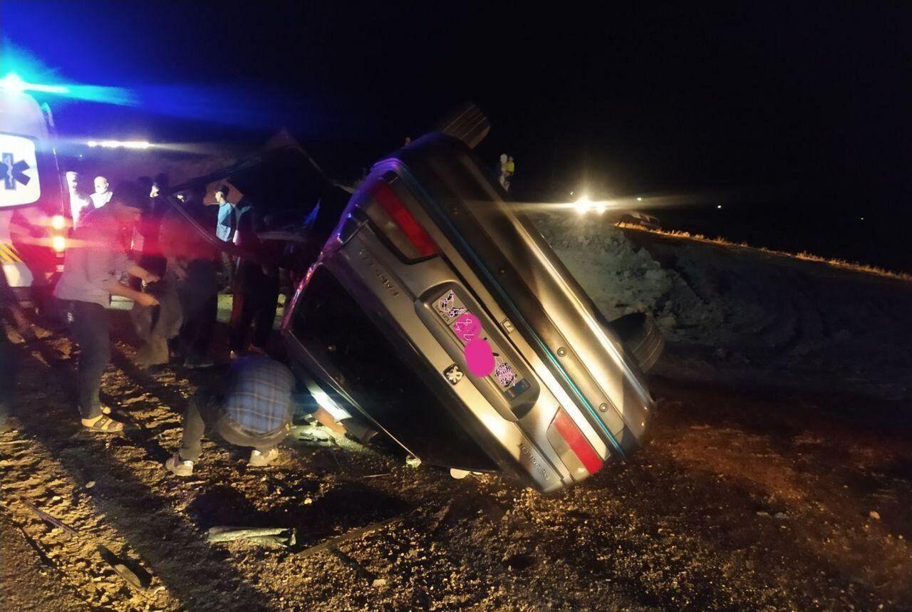 تصادف در جادههای مهاباد 9 کشته و مصدوم برجای گذاشت