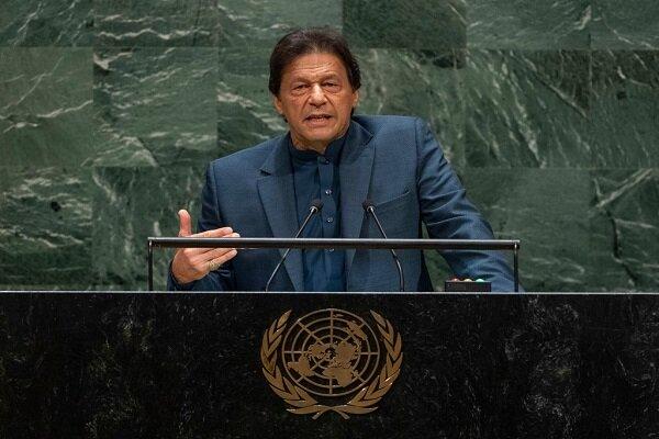 تاکید عمران خان بر حمایت از صلح افغانستان و مرزهای ۱۹۶۷ فلسطین