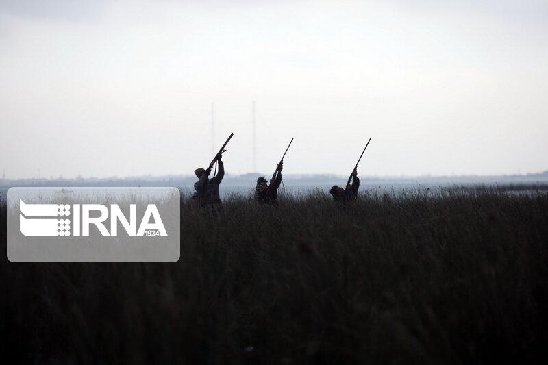 ۳۹ شکارچی غیر مجار در سیستانوبلوچستان دستگیر شدند