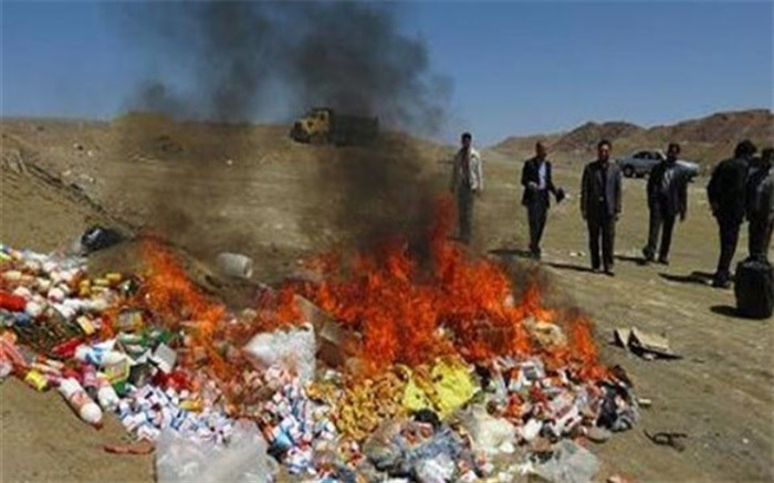 23 هزار کیلوگرم مواد غذایی در سیستانوبلوچستان معدوم شد