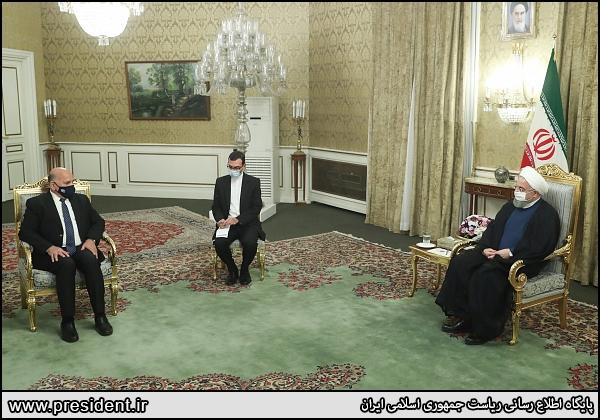 عکس/ دیدار وزیر خارجه عراق با روحانی