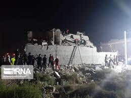 یک کشته بر اثر انفجار گاز مجتمع مسکونی در اهواز
