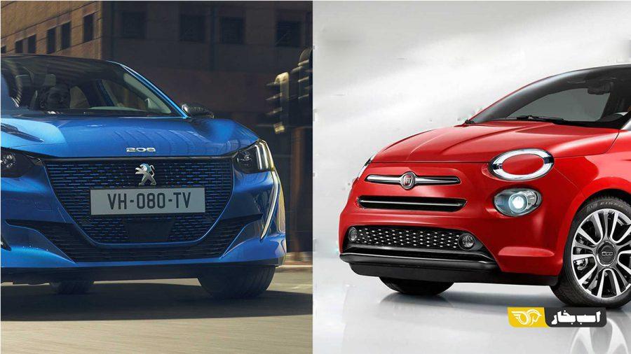 نسل بعدی خودروهای کوچک فیات بر روی پلت فرم پژو ساخته می شوند